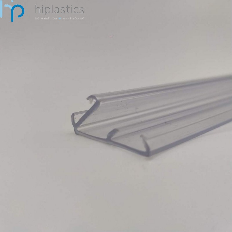 Hiplastics PVC LED-1 Label Holders Data Strip Used LED